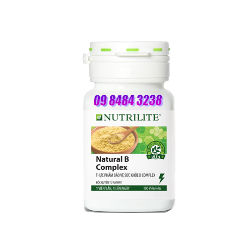 B Complex Nutrilite Amway Thực phẩm bảo vệ sức khỏe