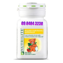 Vitamin & Khoáng chất tổng hợp  (Viên Gấu) cho trẻ em thực phẩm bảo vệ sức khỏe Nutrilite Amway