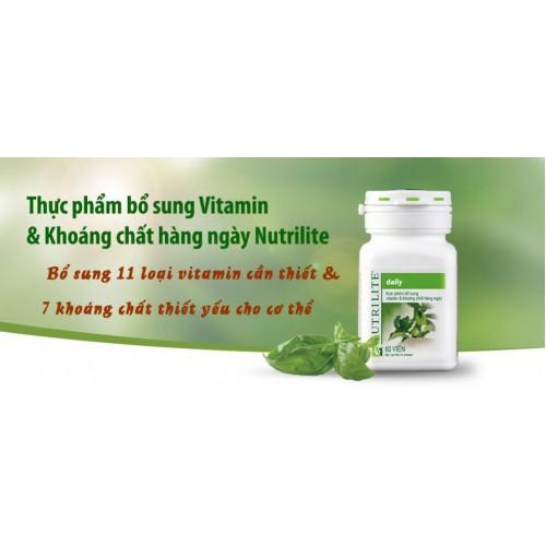Vitamin & khoáng chất hàng ngày Nutrilite Daily Amway Thực phẩm bảo vệ sức khỏe