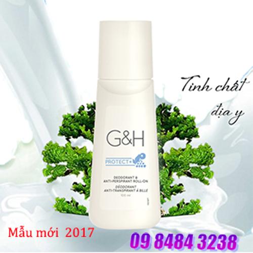 Lăn khử mùi và giảm tiết mồ hôi nách, chân G&H Protect+ (100 ml)