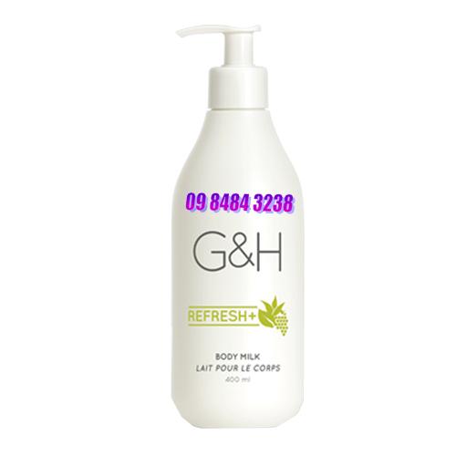Sữa dưỡng thể Amway G&H Refresh+(400ml)