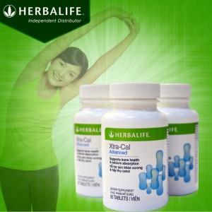 Canxi Herbalife Xtra Cal bổ sung hàm lượng canxi thiết yếu