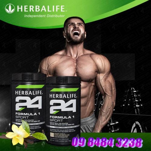 Herbalife Fomular Sport 1 hương vani dinh dưỡng cho vận động viên hoặc tập thể hình