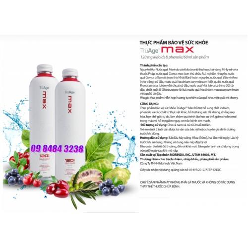 TruAge Thrive Max Noni mới nhất và sáng tạo nhất với hàm lượng iridoids nhiều hơn 4 lần noni truyền thống